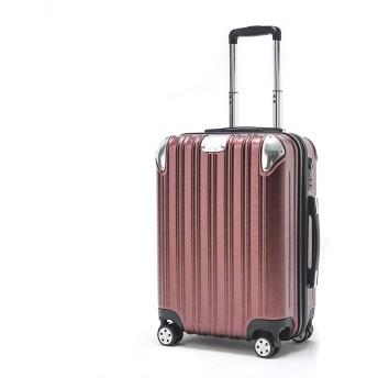 [PIANETA] 傷がつきにくい超軽量 スーツケース ハード キャリーケース(キャリーバッグ)TSA搭載 静音双輪タイプ 段階調整式キャリーバー M S 機内持込可 人気色 一年品質保証 (レッド, S サイズ(機内持込可,1〜3日の旅行用))