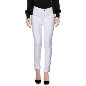 《セール開催中》LOVE MOSCHINO レディース パンツ ホワイト 25 コットン 97% / ポリウレタン 3%