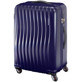 [FREQUENTER(フリクエンター)] スーツケース WAVE ウェーブ 68cm 89L 4.7kg 1-624 マットネイビー