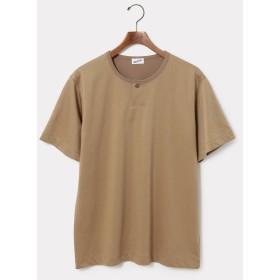 【70%OFF】 アダムエロペ ピンヘッドヘンリーTシャツ ユニセックス ベージュ(27) L 【ADAM ET ROPE'】 【セール開催中】