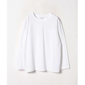 アニエスベー J000 TS コットンTシャツ レディース ホワイト 1 【agnes b.】