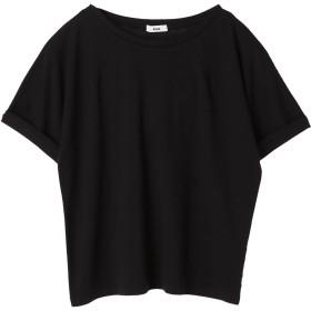 【5,000円以上お買物で送料無料】ネックダーツ5分袖プルオーバー