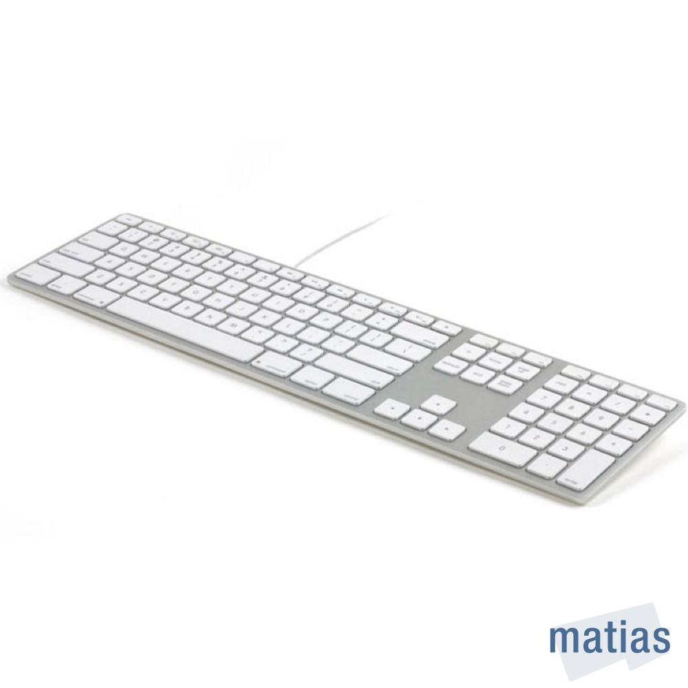 Matias Wired Aluminum Mac 有線鋁質中文長鍵盤