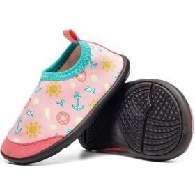 [FITKYJP] アクアシューズ 子供用 靴 可愛い ソックスシューズ ピンク 1920
