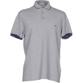 《期間限定 セール開催中》BROOKSFIELD メンズ ポロシャツ ライトグレー 50 コットン 100%
