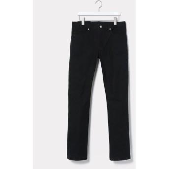 【70%OFF】 アダムエロペ テントクロスセミフレア5ポケットパンツ メンズ ブラック(01) L 【ADAM ET ROPE'】 【セール開催中】