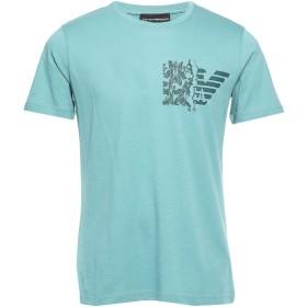 《セール開催中》EMPORIO ARMANI メンズ T シャツ ディープジェード XXS コットン 100%