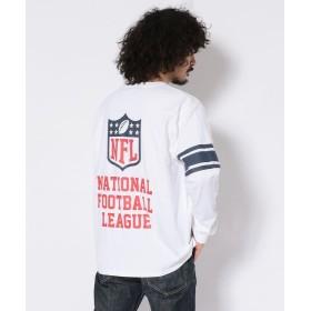 アヴィレックス NFLフットボール Tシャツ/NFL FOOTBALL T SHIRT メンズ WHITE M 【AVIREX】