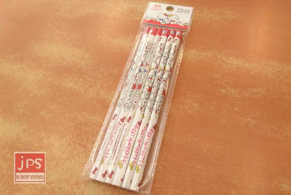 筆身約17.8cm,內含6支2B木頭鉛筆。