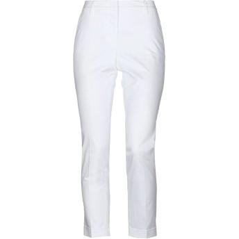 《セール開催中》CAPPELLINI by PESERICO レディース パンツ ホワイト 42 コットン 98% / ポリウレタン 2%