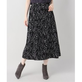 B.C STOCK センガ flower スカート ブラック フリー
