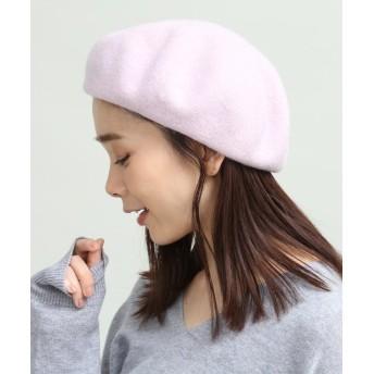 【70%OFF】 ビス フェルトベレー帽 レディース ピンク系(65) F 【ViS】 【タイムセール開催中】