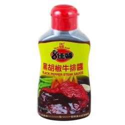 憶霖-黑胡椒牛排醬400g