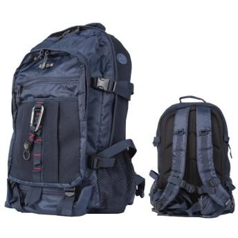 カバンのセレクション グランドストーン バランス リュックサック デイパック 大容量 通学 塾 出張 GRAND STONE 8782 ユニセックス ネイビー 在庫 【Bag & Luggage SELECTION】