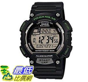 [美國直購] 手錶 Casio Mens STL-S100H-1AVCF Tough Solar Runner Black Watch