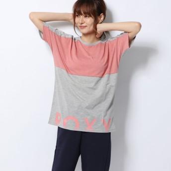 ロキシー ROXY レディース フィットネス 半袖Tシャツ IN THE MOON MOOD ERJZT04657