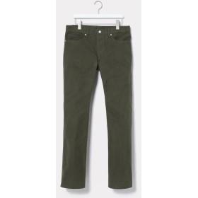 【70%OFF】 アダムエロペ テントクロスセミフレア5ポケットパンツ メンズ カーキ(36) L 【ADAM ET ROPE'】 【セール開催中】