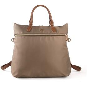 3way リュック レディース リュック 手提げ 口折れショルダー3種対応バッグ はっ水加工 通勤 旅行 ショッピング好適バッグ