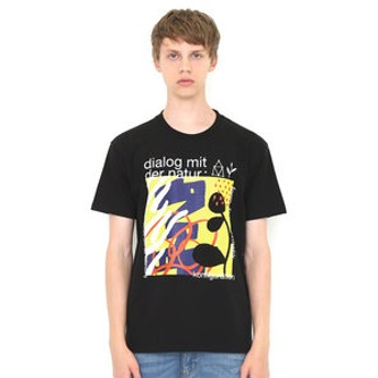 【グラニフ:トップス】Tシャツ/フローラルグラフィックス