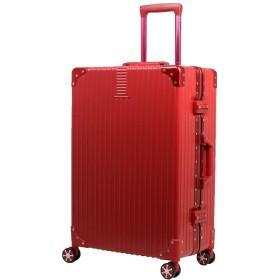 MOIERG(モアエルグ)スーツケース キャリーバッグ キャリーケース アルミフレーム[71-22010-30](SS, レッド)