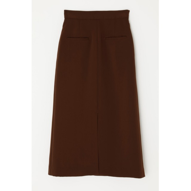 スライ SLY FRONT SLIT スカート (ブラウン)