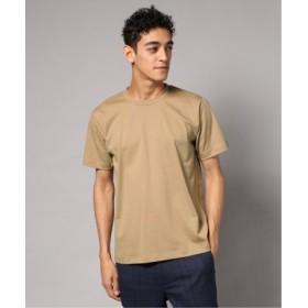 (EDIFICE/エディフィス)FUNCTIONAL COTTON クルーネック Tシャツ/メンズ ベージュ