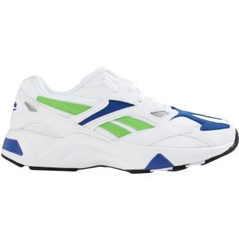 《セール開催中》REEBOK レディース スニーカー&テニスシューズ(ローカット) ホワイト 6 紡績繊維 AZTREK 96