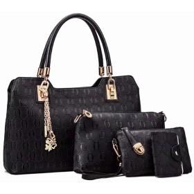 WENBOH 新しい女性ハンドバッグファッションPUレザーバッグメッセンジャーバッグ女性バッグ大容量財布