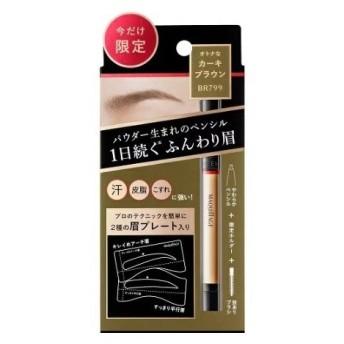 【限定 眉プレート入り】 資生堂 マキアージュ ラスティングフォギーブロウEX 限定セット H1 BR799