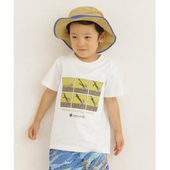 DOORS(ドアーズ) キッズ トップス snow peak apparel×DOORS 別注Taut LineHitch Tee(KIDS)