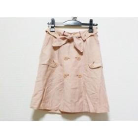 ジャスグリッティー JUSGLITTY スカート サイズ1 S レディース ピンク【中古】