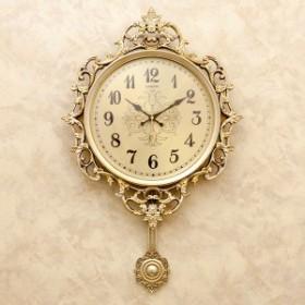 ビクトリアンパレス ペンデュラムウォールクロック「モンテカルロ」連続秒針付 掛時計(192)