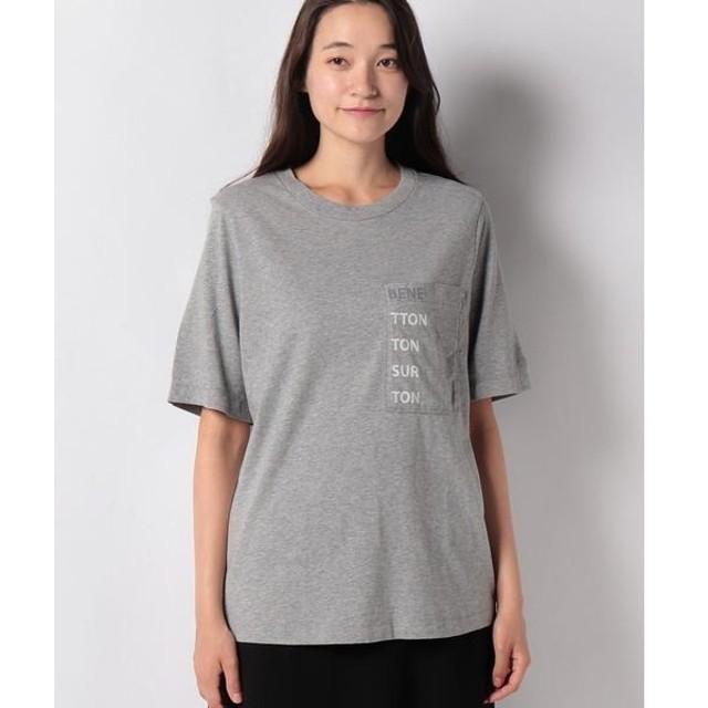 [マルイ]【セール】コットンポケット付きブランドロゴTシャツ・カットソー/ベネトン レディース(UNITED COLORS OF BENETTON)