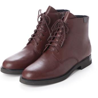 カンペール CAMPER IMAN / ブーツ プレーン フラットヒール (チョコレートブラウン)