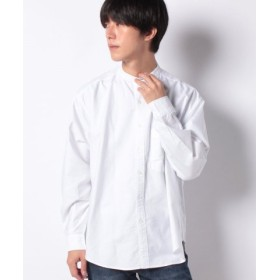 (koe/コエ)ワイドオーガニックオックスバンドカラーシャツ/メンズ ホワイト