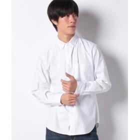 (koe/コエ)レギュラーオーガニックオックス釦ダウンシャツ/メンズ ホワイト