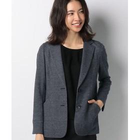 <レリアン/Leilian> テーラードジャケット ネービーブルー(38) 【三越・伊勢丹/公式】