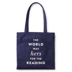(Kate spade new yorkケイトスペード) canvas book tote hers for the reading 174949