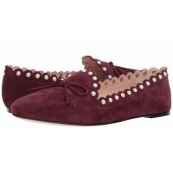 Kate Spade New York ケイト・スペード レディース 女性用 シューズ 靴 フラット Salford Deep Cherry Suede【送料無料】