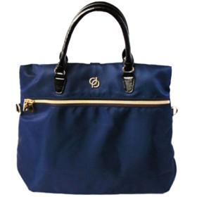 バッグ レディース 撥水素材 3way 鞄813 (color_ネイビー)