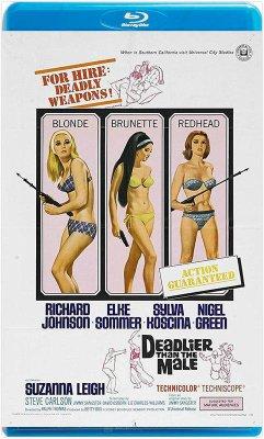 【藍光電影】女人比男人更凶殘 / 女煞星 / DEADLIER THAN THE MALE (1967)