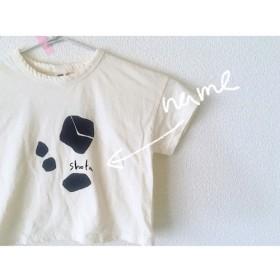 new【文字入れオーダー】選べる3カラー ︎石ころTシャツ ︎