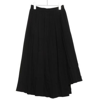 テチチ アウトレット Te chichi outlet イレギュラーヘムプリーツスカート(コラボ) (ブラック)