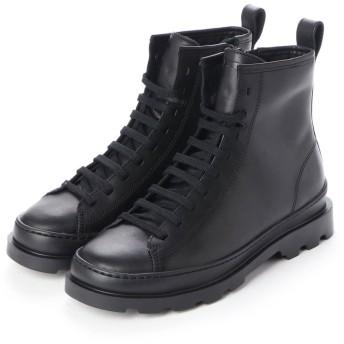 カンペール CAMPER BRUTUS / ブーツ プレーン フラットヒール (ブラック)