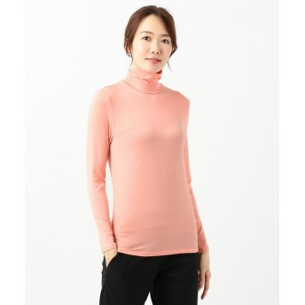 ICB High Necked Jersey カットソー レディース ピンク系 S 【ICB】