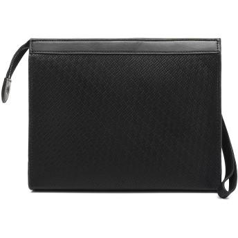 FSD.WG クラッチバック メンズ レザー セカンドバッグ 手持ち 小さめ 紳士鞄 着脱ベルト付き パーティー メンズバッグ ラージサイズ