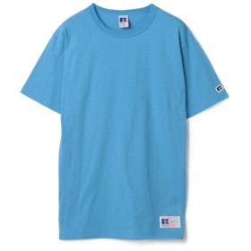 RATTLE TRAP RUSSELL ATHLETIC Bookstore Jersey Crew Neck T(ブルー)【返品不可商品】
