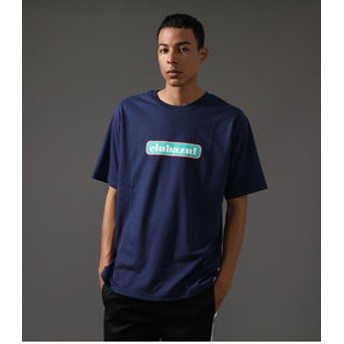 【AZUL by moussy:トップス】【MEN'S】CLUBAZUL TWO TONE BOX T-SHIRT