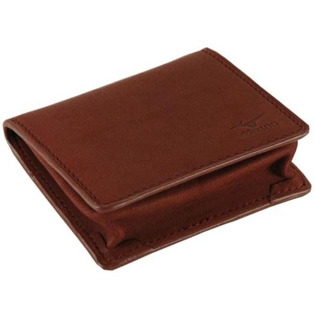 MIZUNO SHOP [ミズノ公式オンラインショップ] グラブ革BOX式コインケース 66 ローズブラウン 1GJYG02400