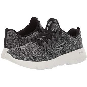 [スケッチャーズ] レディーススニーカー・靴・シューズ Go Run Focus Black/White (23.5cm) B - Medium [並行輸入品]